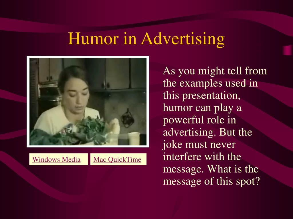 Humor in Advertising