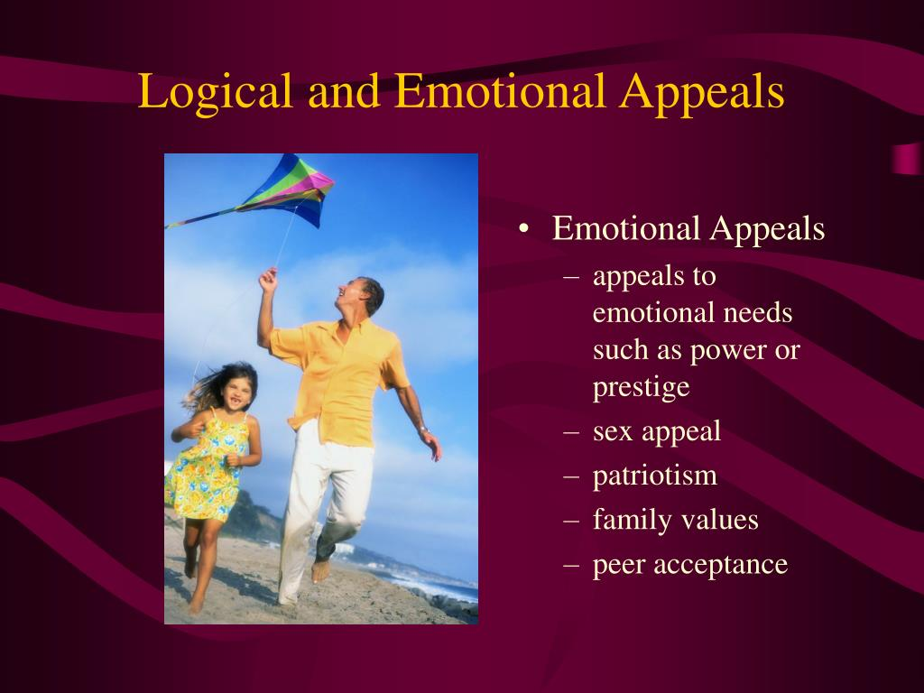 Logical and Emotional Appeals