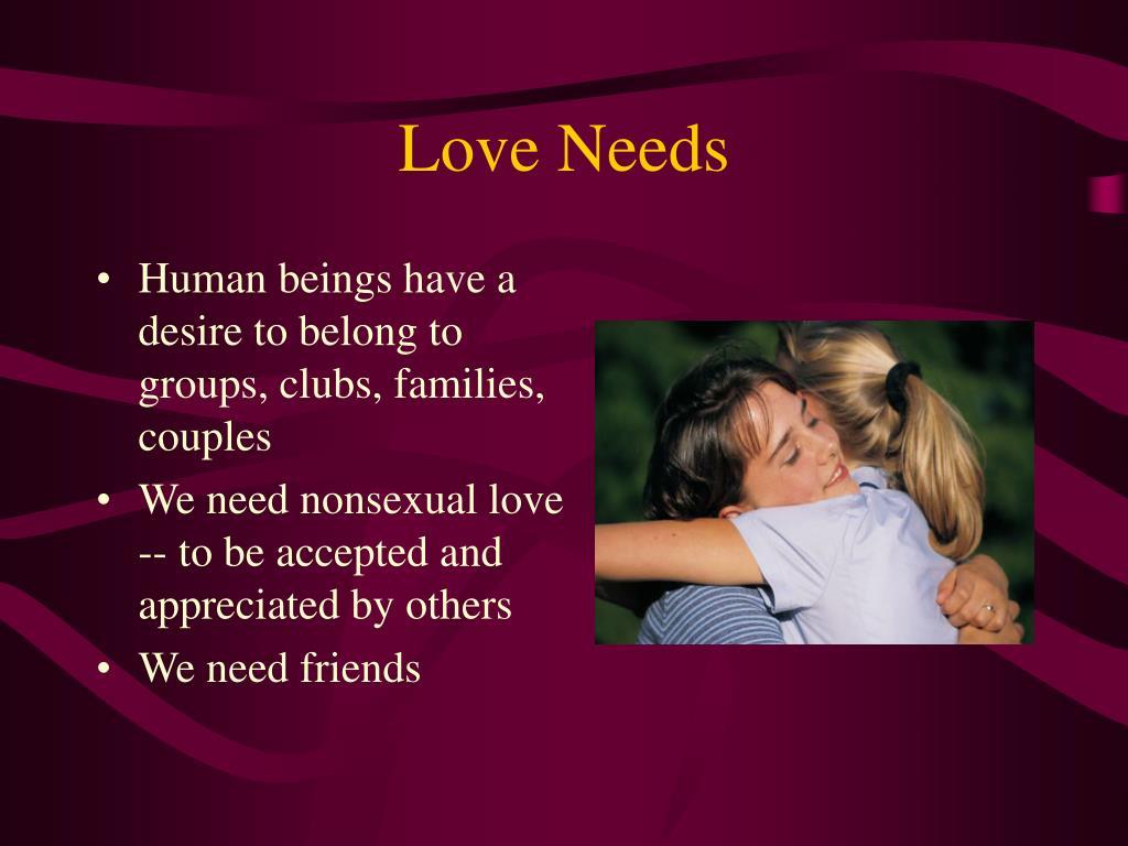 Love Needs