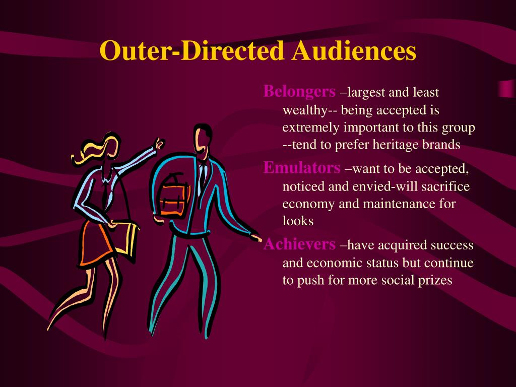 Outer-Directed Audiences