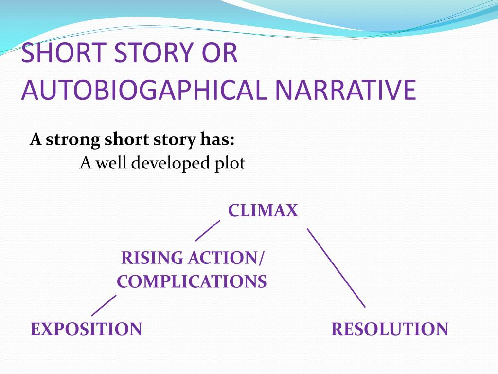 short narrative story Life's stories how you arrange the plot points of your life into a narrative can  shape who you are—and is a fundamental part of being human.