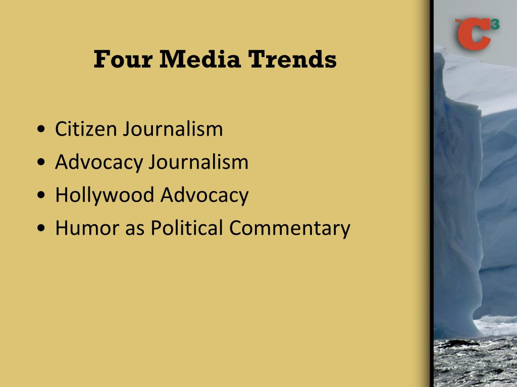 Four Media Trends