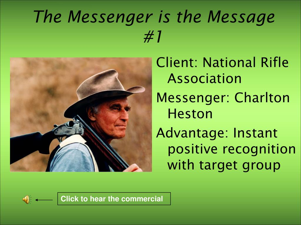 The Messenger is the Message #1