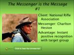 the messenger is the message 1