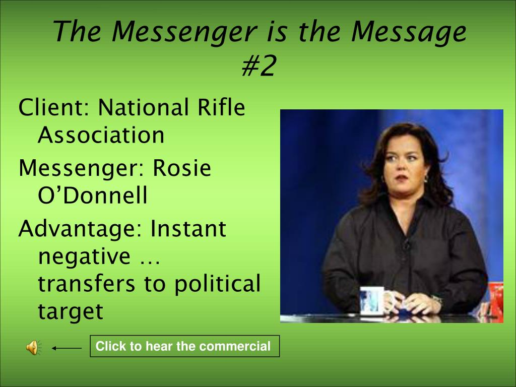 The Messenger is the Message #2