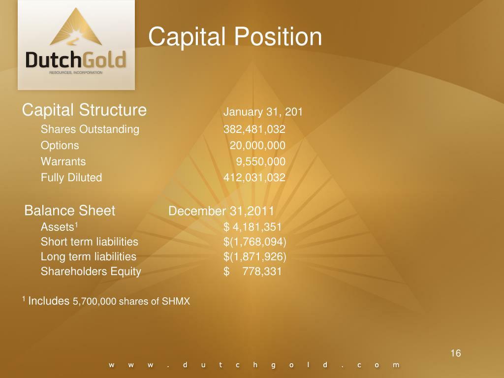 Capital Position