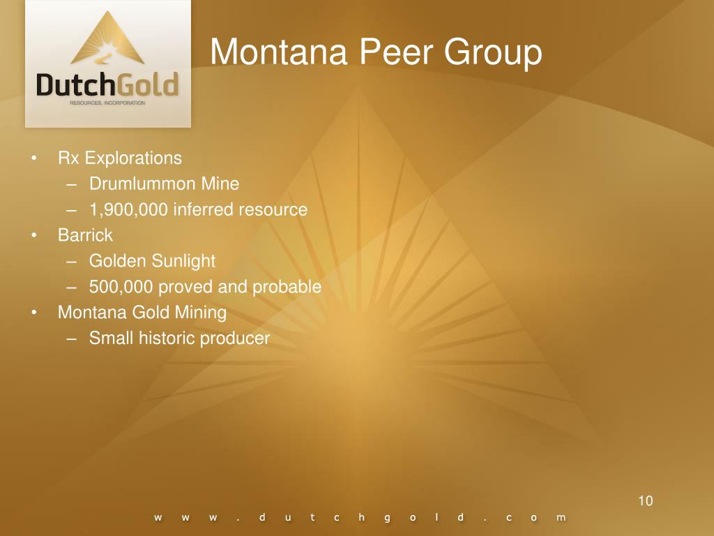 Montana Peer Group