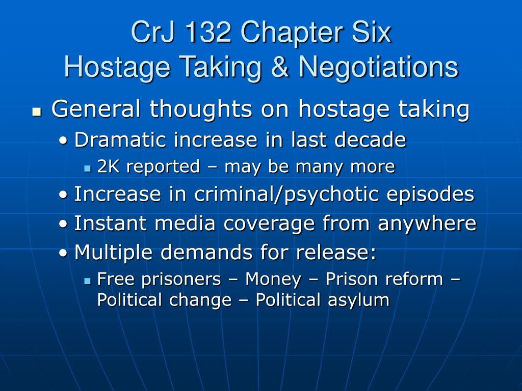 CrJ 132 Chapter Six