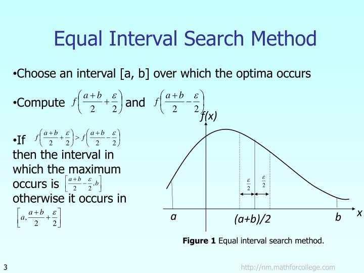 Equal interval search method l.jpg