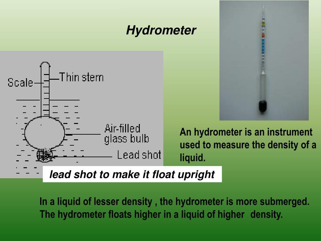 Hydrometer