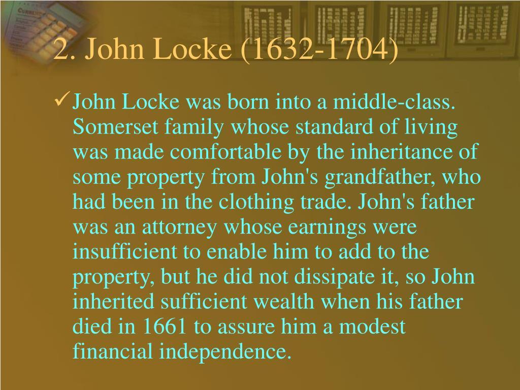 2. John Locke (1632-1704)