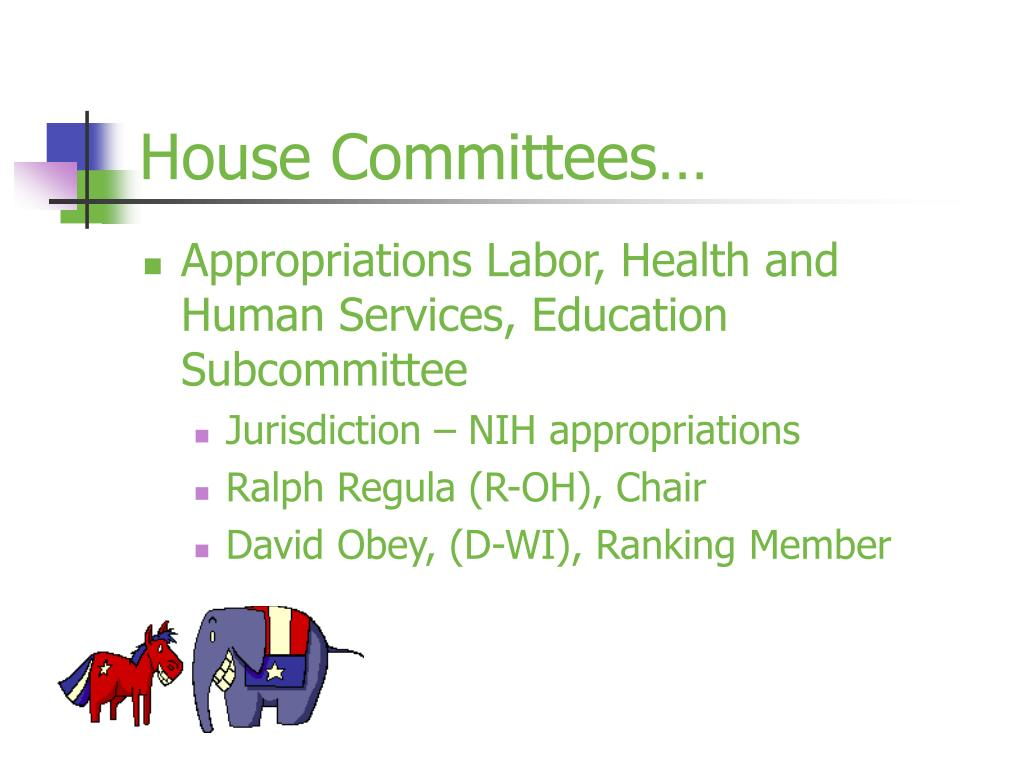 House Committees…