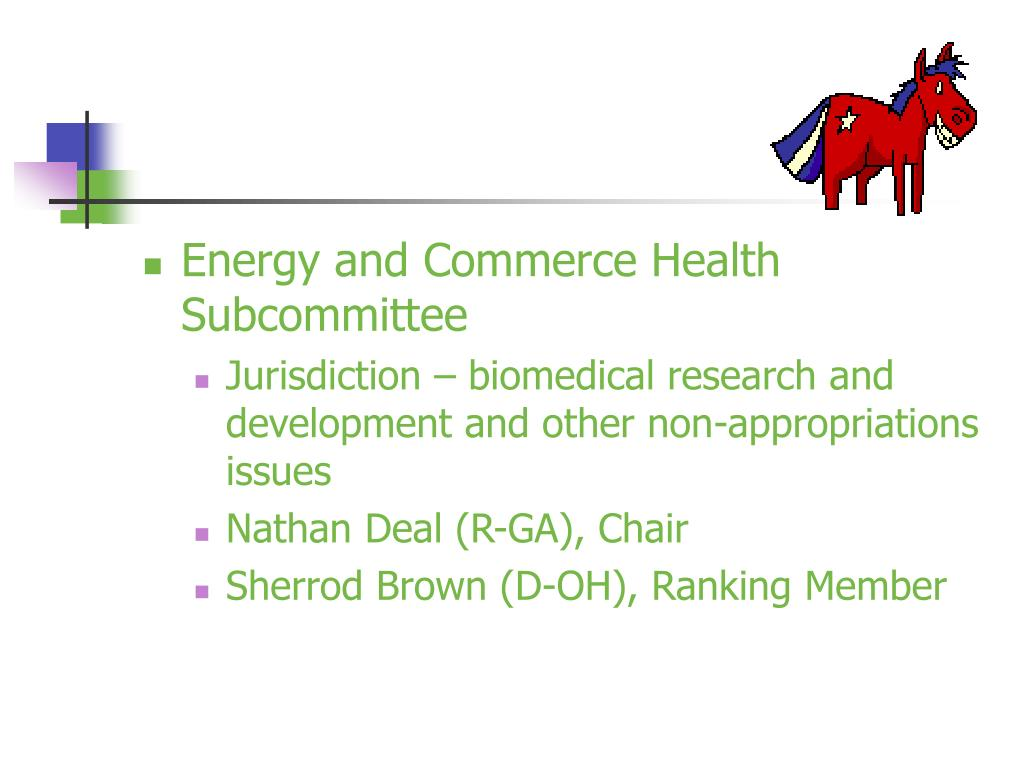 Energy and Commerce Health Subcommittee