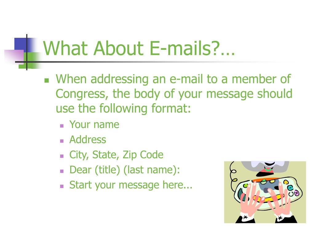 What About E-mails?…