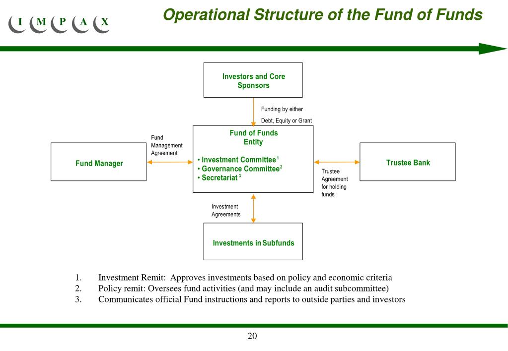 Operational Structure of the Fund of Funds