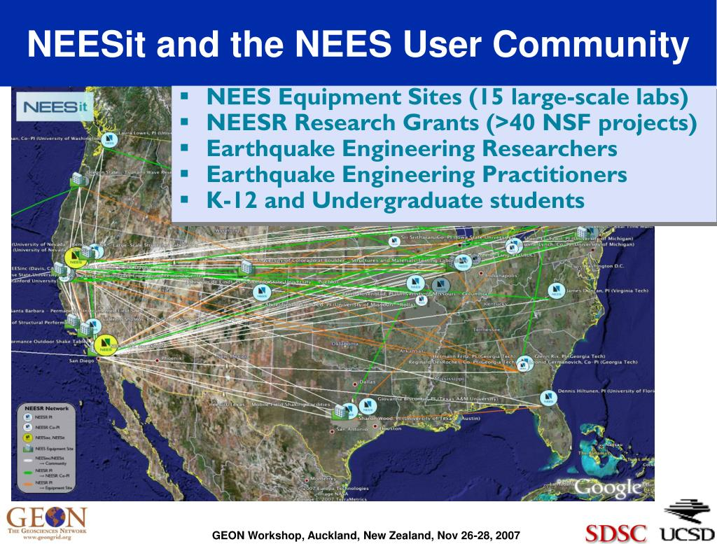 NEESit and the NEES User Community