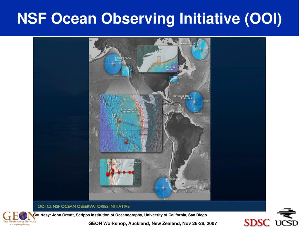 NSF Ocean Observing Initiative (OOI)