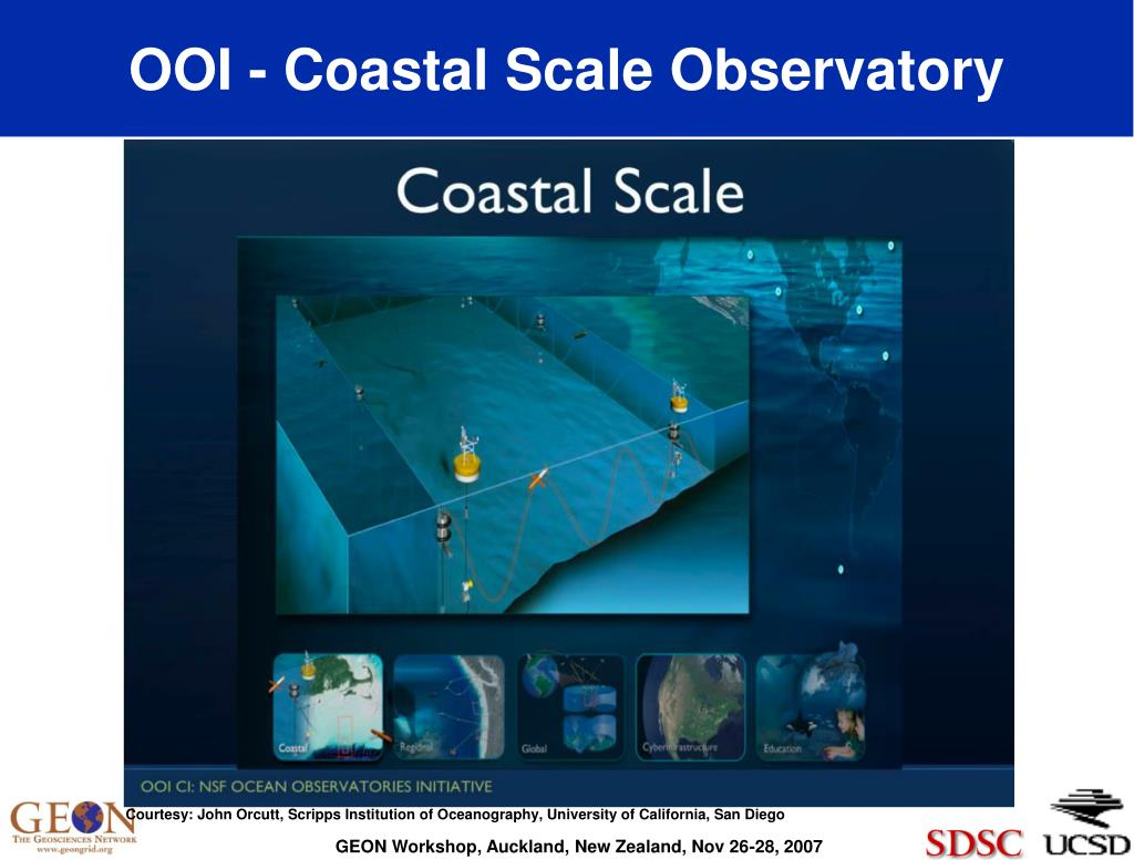 OOI - Coastal Scale Observatory