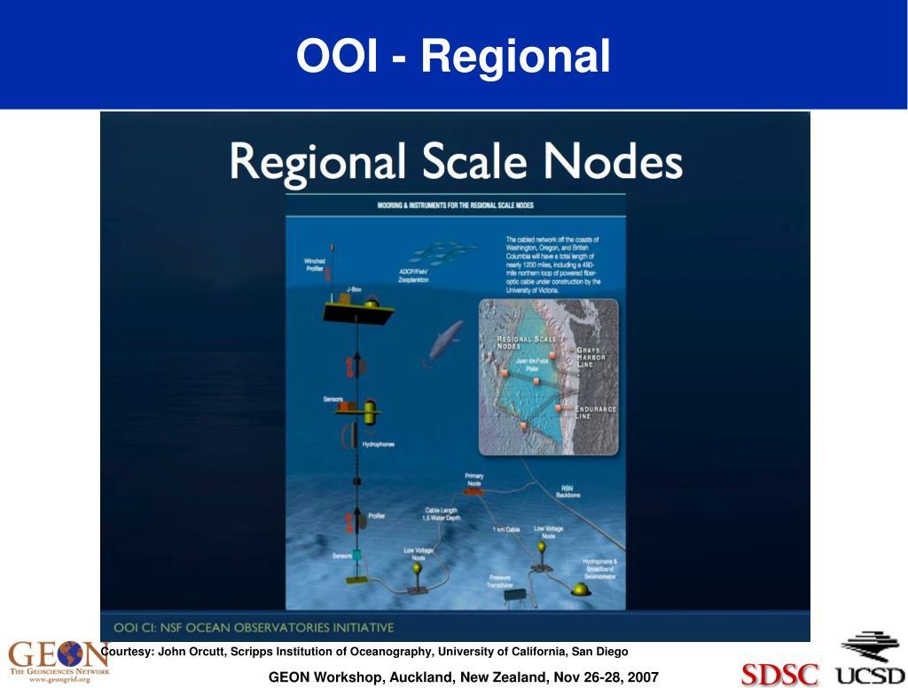 OOI - Regional