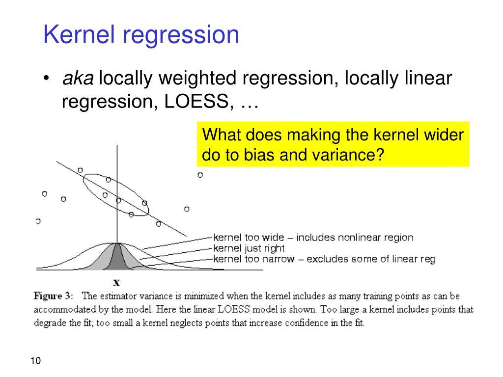 Kernel regression