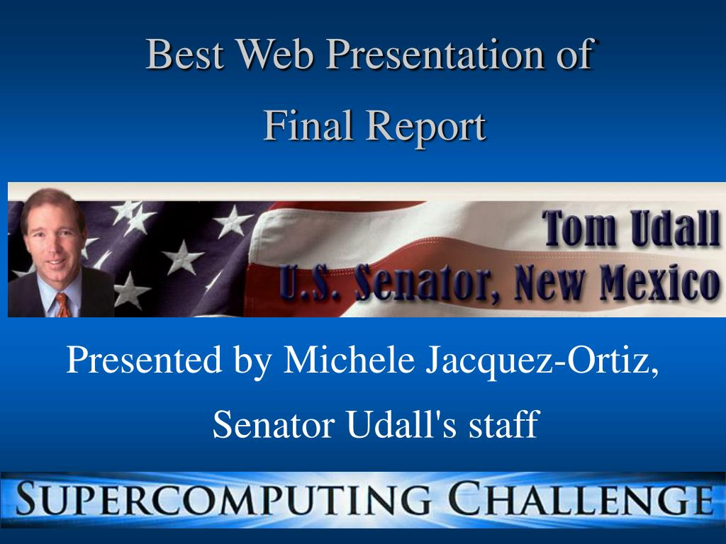 Best Web Presentation of