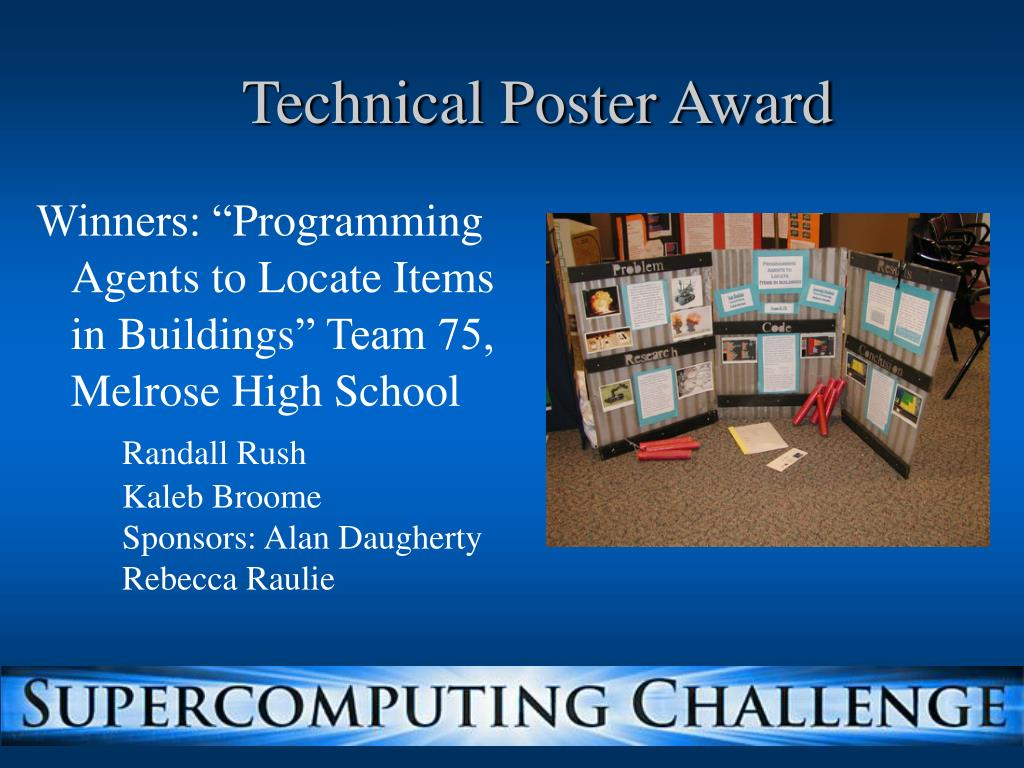 Technical Poster Award