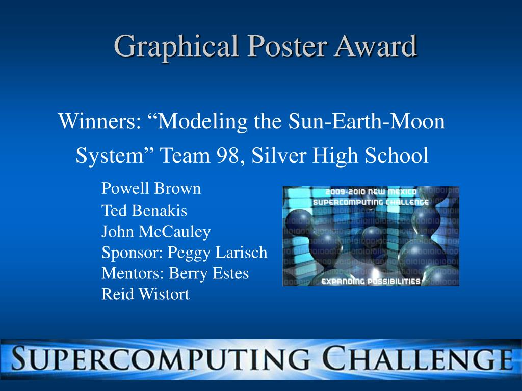 Graphical Poster Award