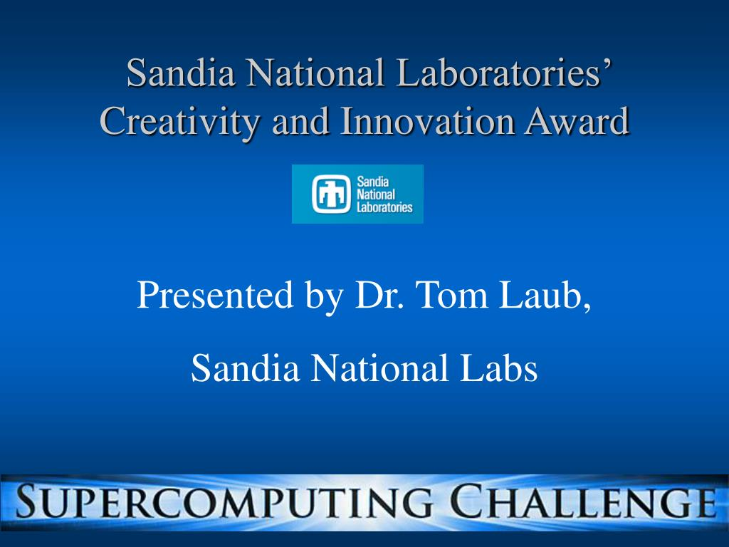 Sandia National Laboratories'