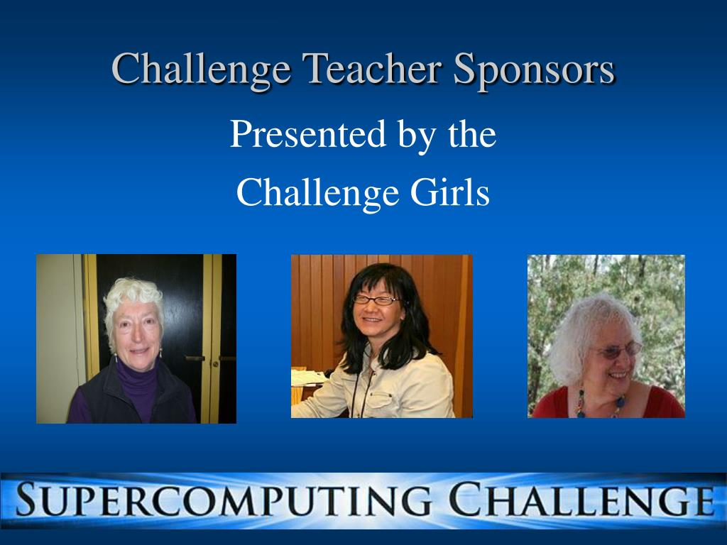Challenge Teacher Sponsors