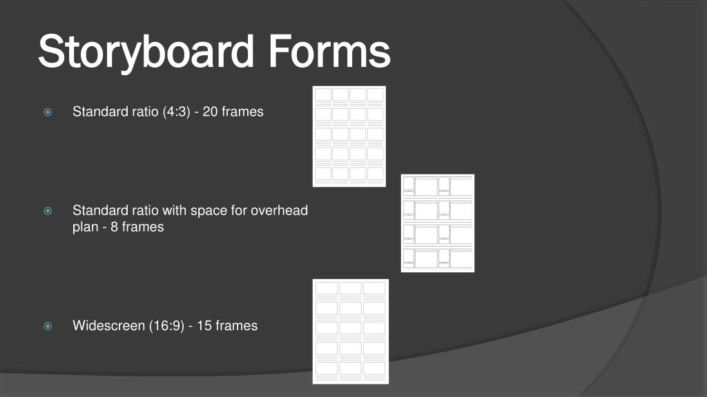 Storyboard Forms