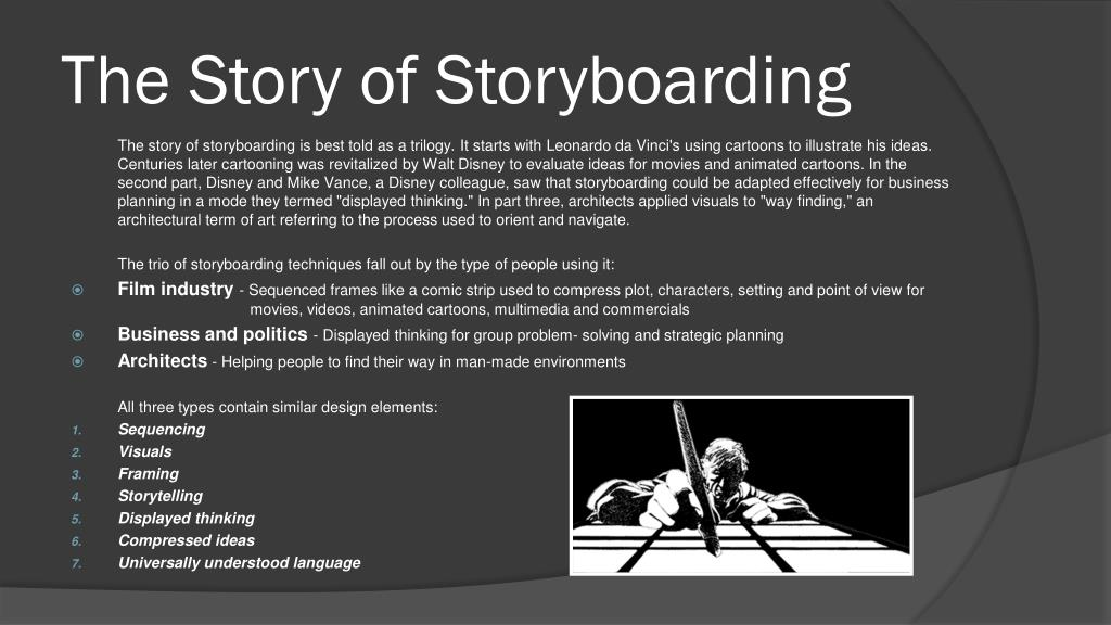 The Story of Storyboarding