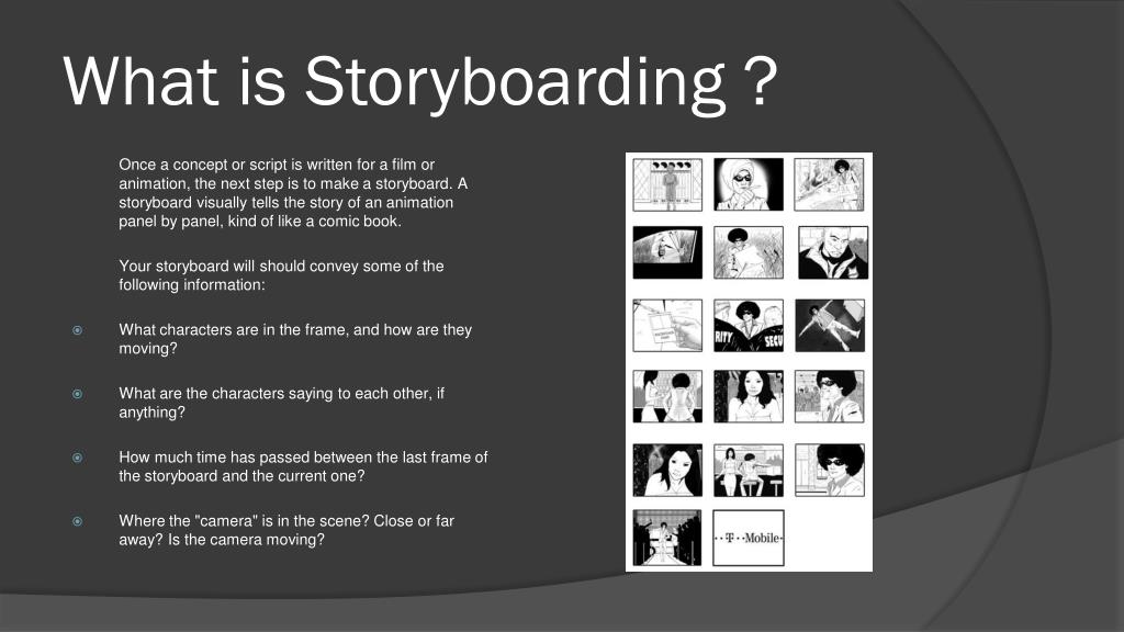 What is Storyboarding ?