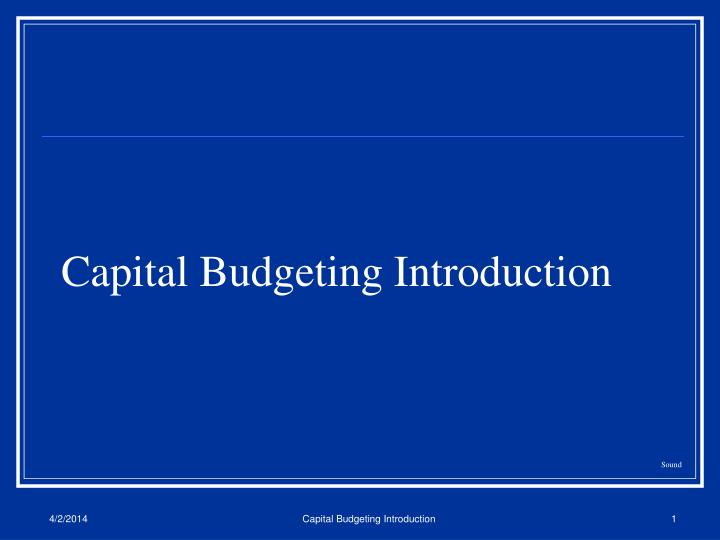 Capital budgeting introduction l.jpg