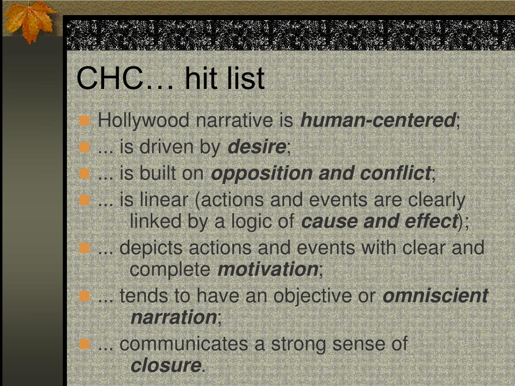 CHC… hit list