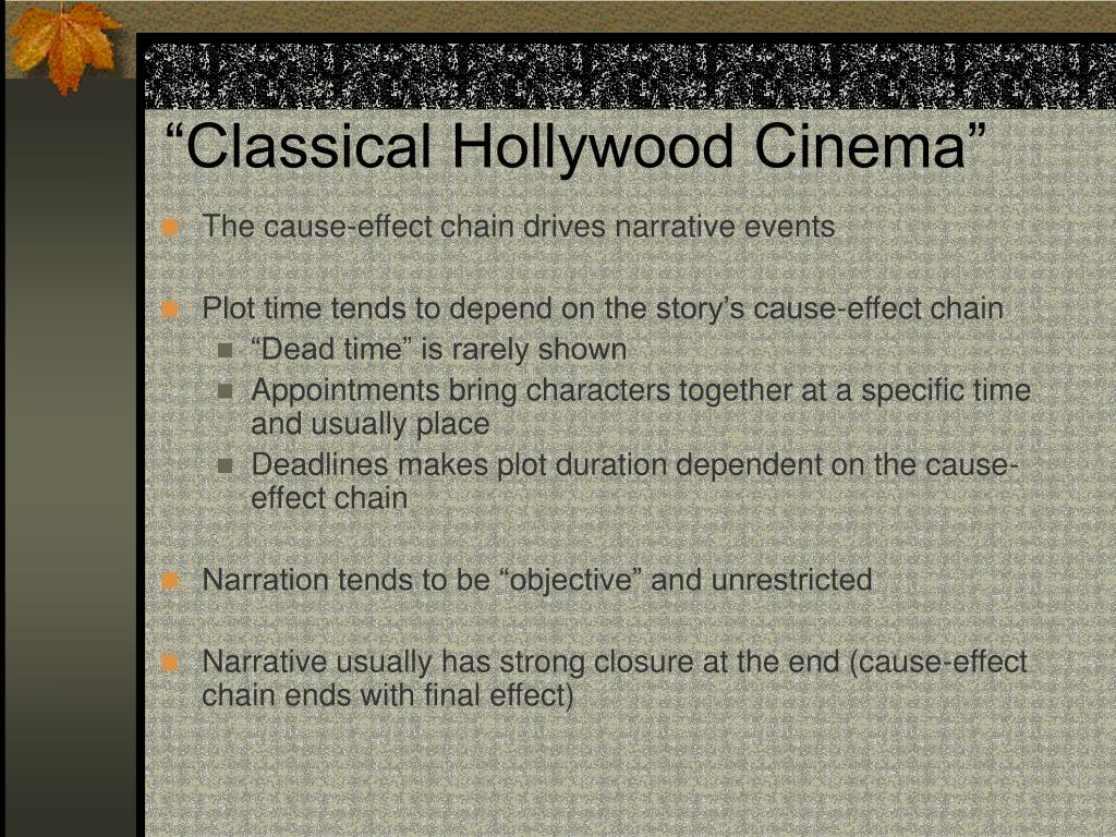 """Classical Hollywood Cinema"""