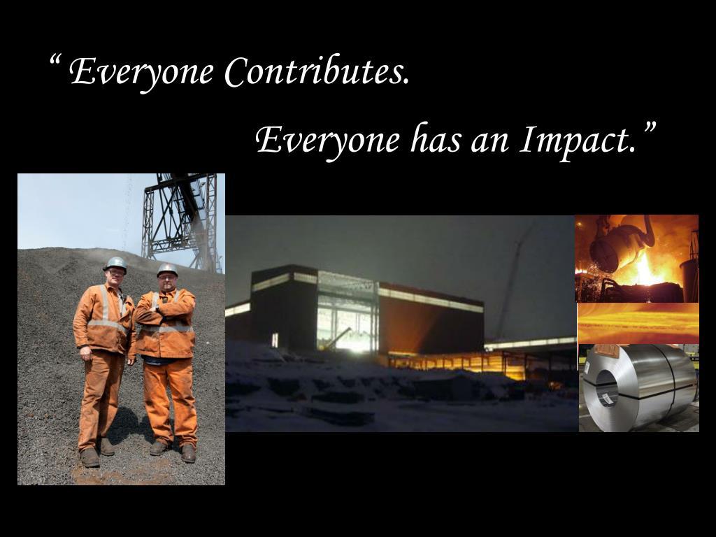 """ Everyone Contributes."