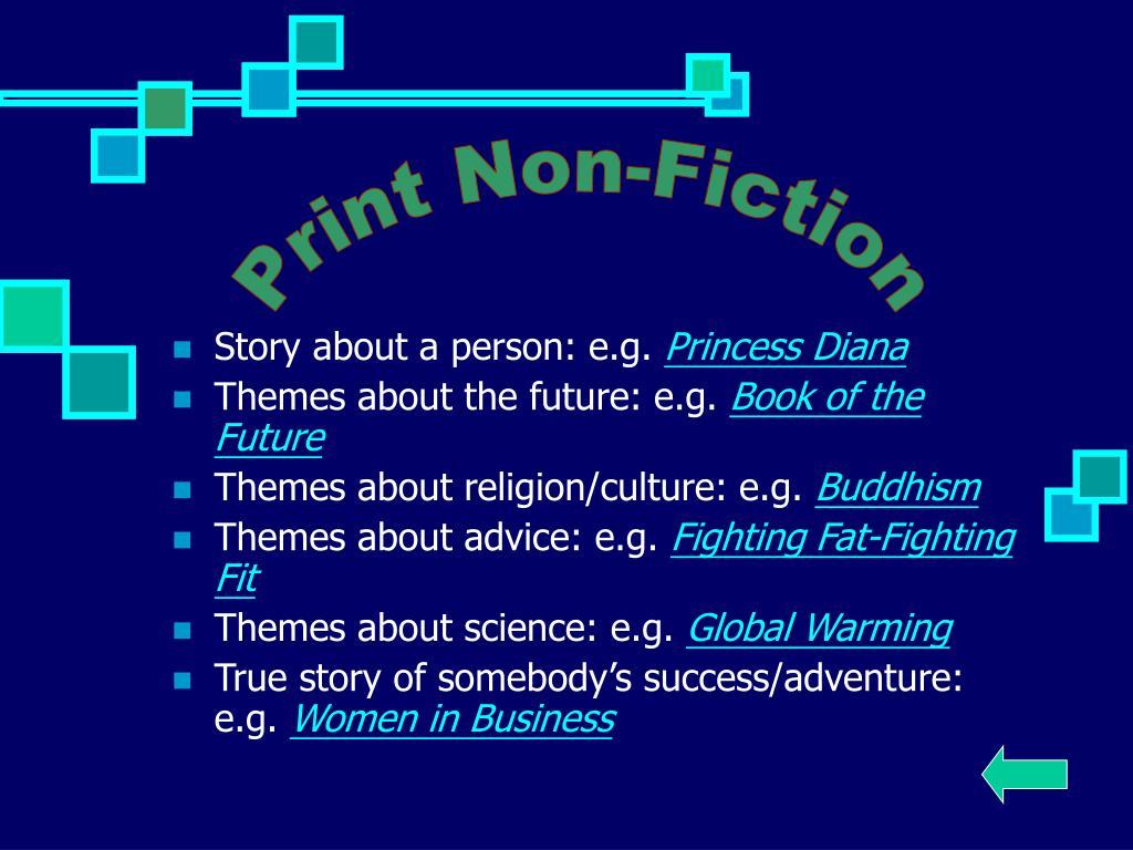Print Non-Fiction