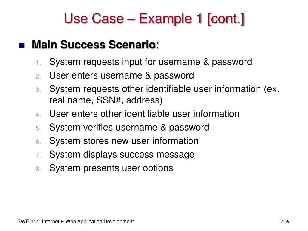 Use Case – Example 1 [cont.]