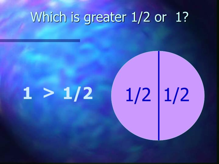 Which is greater 1 2 or 1 l.jpg