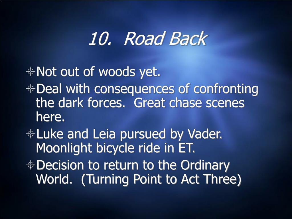 10.  Road Back