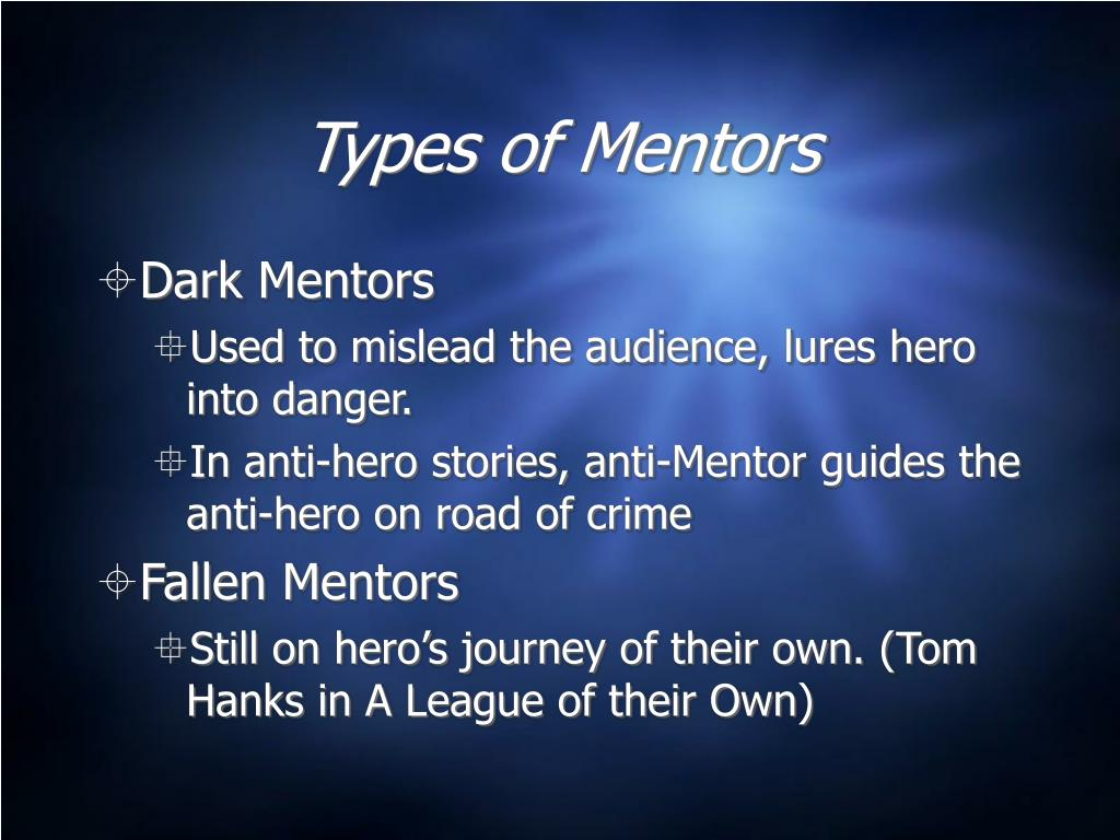 Types of Mentors