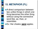 15 metaphor fl