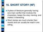 16 short story nf