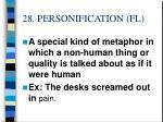 28 personification fl