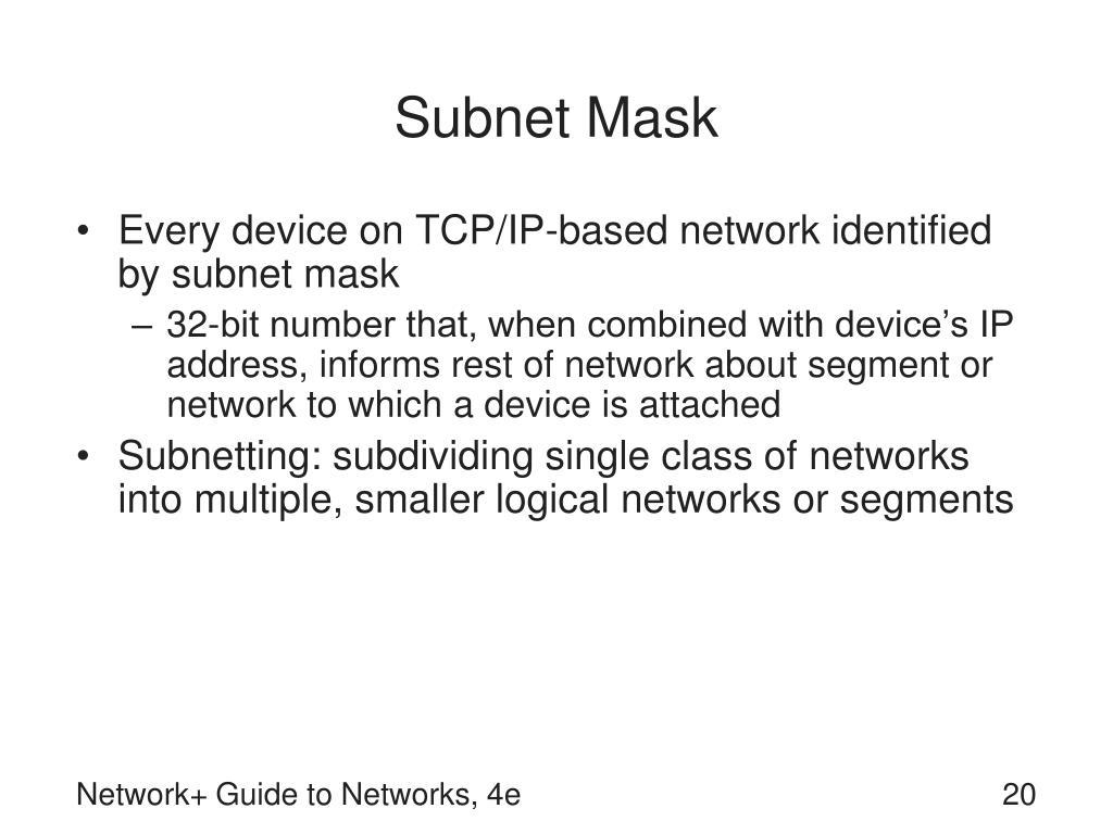 Subnet Mask