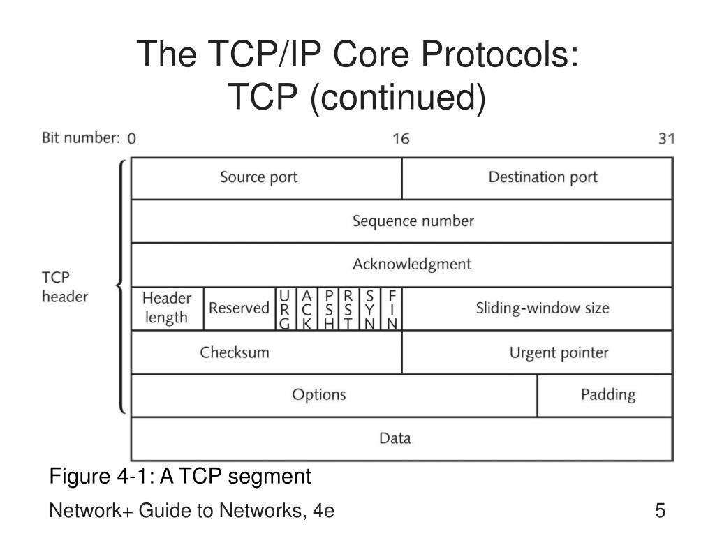 The TCP/IP Core Protocols: