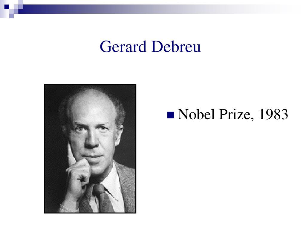 Gerard Debreu