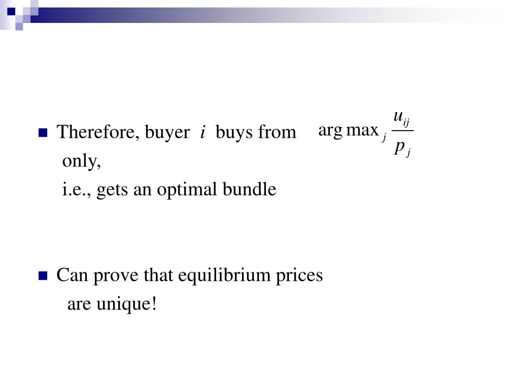 Therefore, buyer