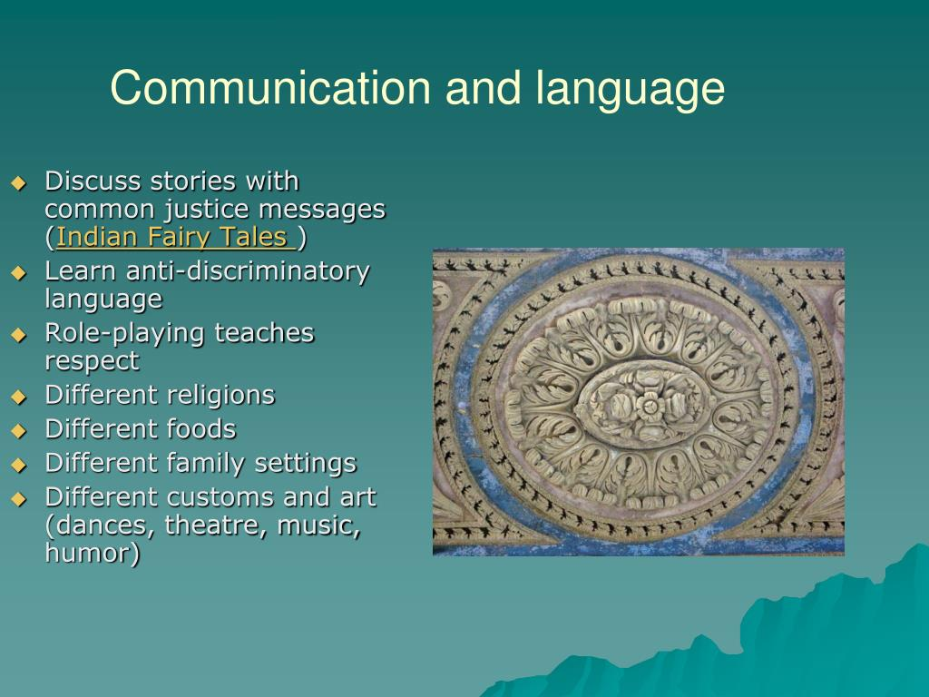 Communication and language