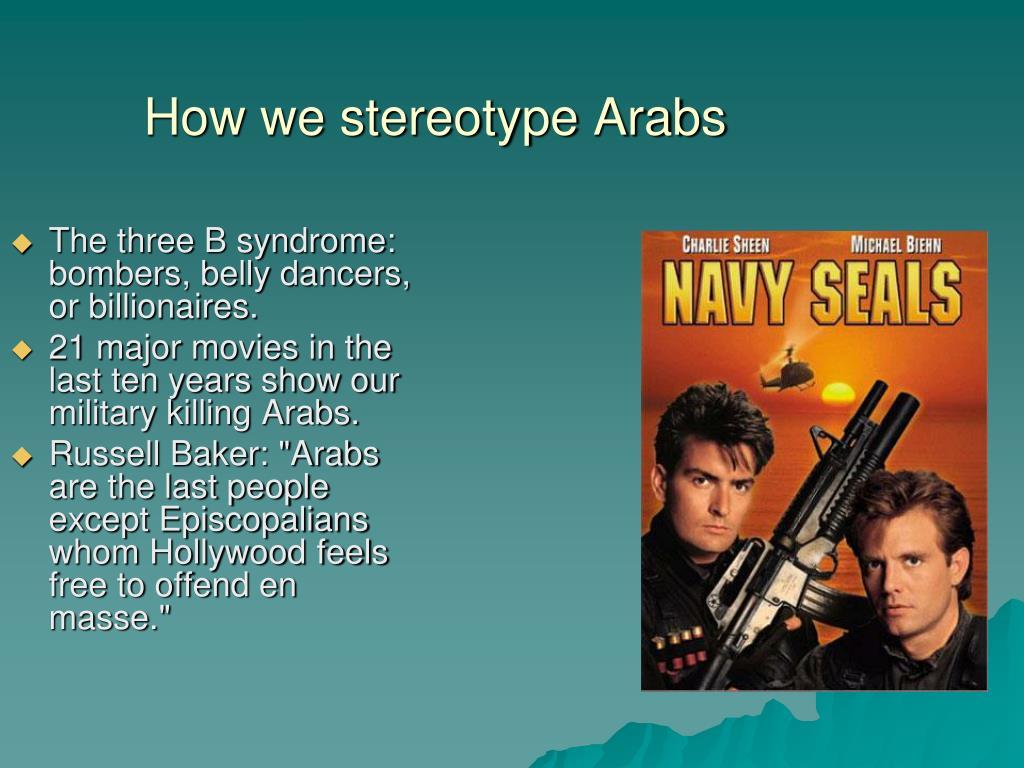 How we stereotype Arabs